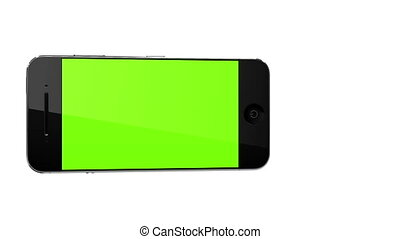 verhuizing, smart, telefoon, landscape, concept, met, tracking, punten, en, aplha, 2