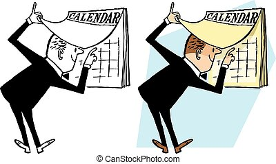 verificar, calendario
