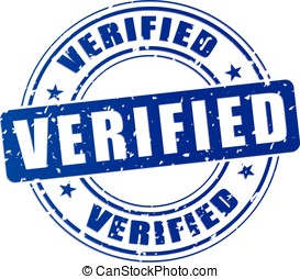 verified blue stamp