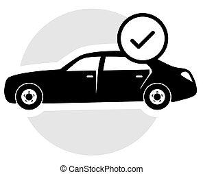 Verified Car Icon