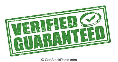 Verified guaranteed
