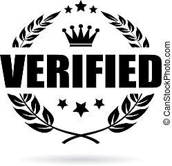 Verified laurel icon