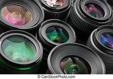 Verious photo lenses