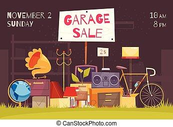Verkauf Garage Pachtland