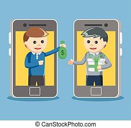 verkauf, on-line kaufen