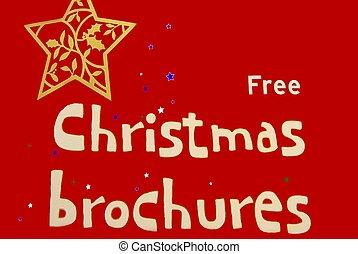 verkauf, weihnachten, zeichen