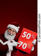 verkauf zeichen, weihnachten
