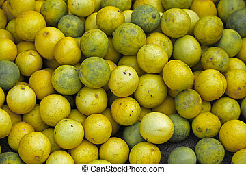 verkaufen, zitrone, markt, c., limon