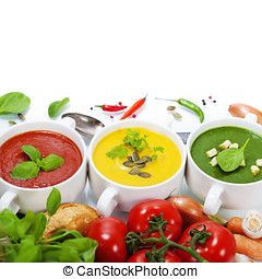 verkehrsampel, suppen