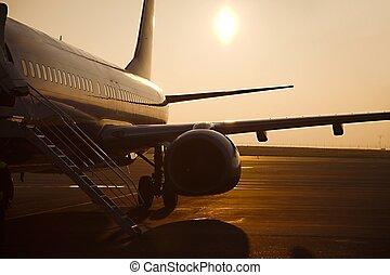 verkehrsflugzeug
