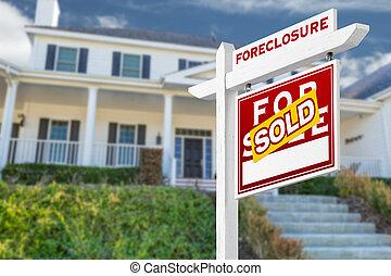 verklig, rättighet, egendom, utmätning, såld, house., ...