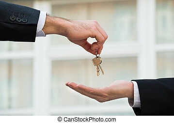verkligt gods, ge sig, hus, medel, stämm, affärsman