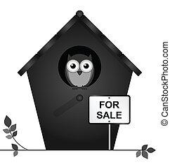 verkoop, birdhouse