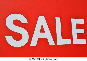 verkoop teken