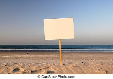 verkopen, strand