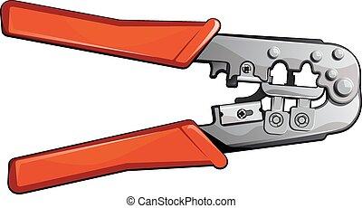 verktyg, för, installation