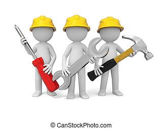 verktyg, tekniker