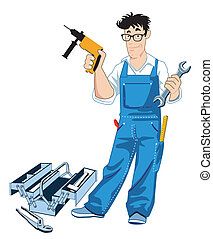verktygslåda, hantverkare