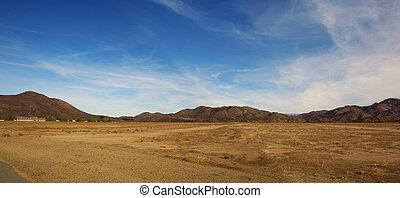 verlassen landschaft