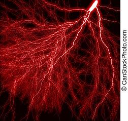 verlichting, rood