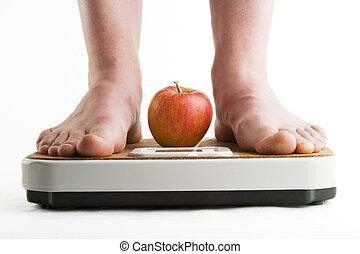 verlust, gewicht
