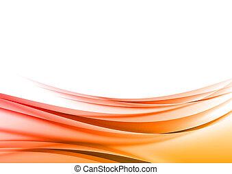 vermelho, abstratos, formas