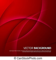 vermelho, abstratos, fundo, com, sombras