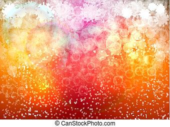 vermelho, abstratos