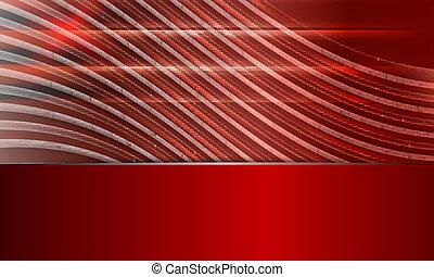 vermelho, abstratos, vetorial, fundo