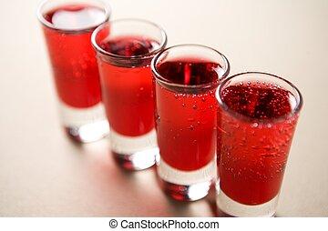 vermelho, atiradores