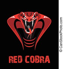 vermelho, cobra.eps
