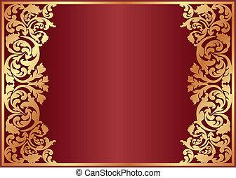 vermelho, fundo