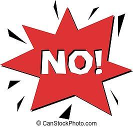 vermelho, não, checkmark, botão, forbidden., vetorial, rejeição, símbolo, disapproved, isolado, ligado, white.
