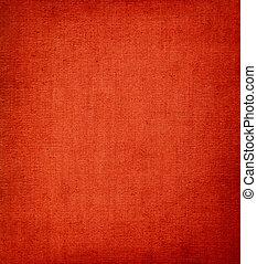 vermelho, vignetted, têxtil, fundo