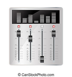 vermenging, audio, paneel