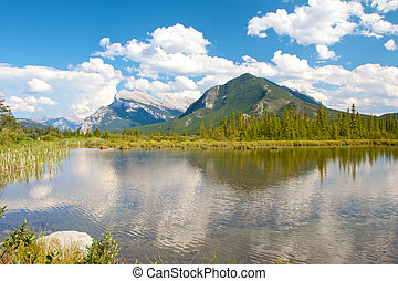 Vermillion Lakes View - View on beautiful Vermillion Lakes...