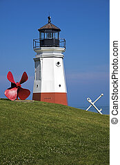 Vermillion Lighthouse - built in 1877.
