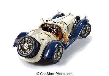 vermindert, modelleer auto