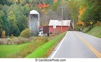Vermont country side drive