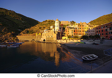 Vernazza old town in Cinque Terre, Italy