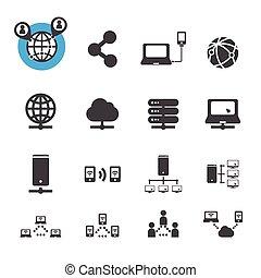 vernetzung, ikone