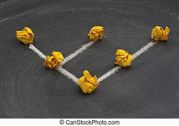 vernetzung, topology, 6, -, baum, oder, hierarchisch, modell