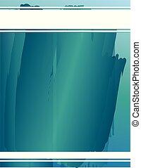 vernice blu, colpi, fondo