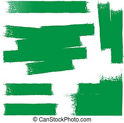 vernice, sfondo verde