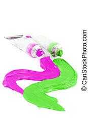 vernici, artist\'s, colorito