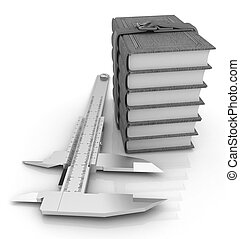 Vernier caliper and leather professional books. Best professiona