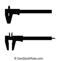 vernier caliper illustration