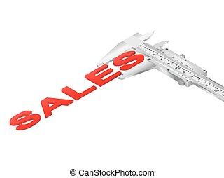 vernier, ventas