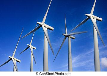 vernieuwbare energie, wind turbine