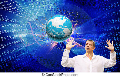 vernieuwend, internet, opleiding